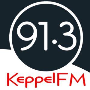 91.3FM logo